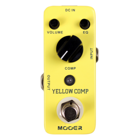 Mooer Mooer MCS2 Yellow Compressor Pedal