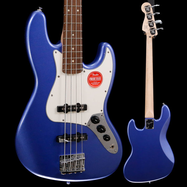 Squier Squier Contemporary Jazz Bass, Ocean Blue Metallic ICS18137187 9lbs 5.4oz
