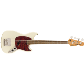 Squier Squier Classic Vibe 60s Mustang Bass, Laurel Fb, Olympic White ISS1914118