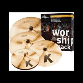 Zildjian Cymbals Zildjian K Custom Cymbal Set - Worship Pack