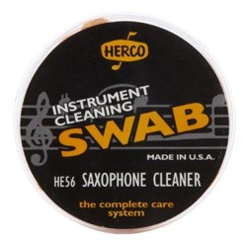 Herco HE56 Saxophone Swab W/ Brush