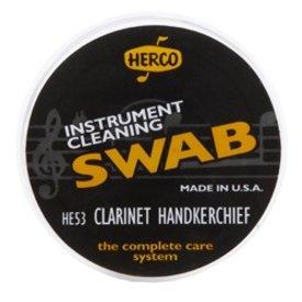Jim Dunlop Herco HE53 Clarinet Handkerchief Swab