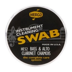 Jim Dunlop Herco HE52 Alto & Bass Clarinet Swab Synthetic Chamois Cloth