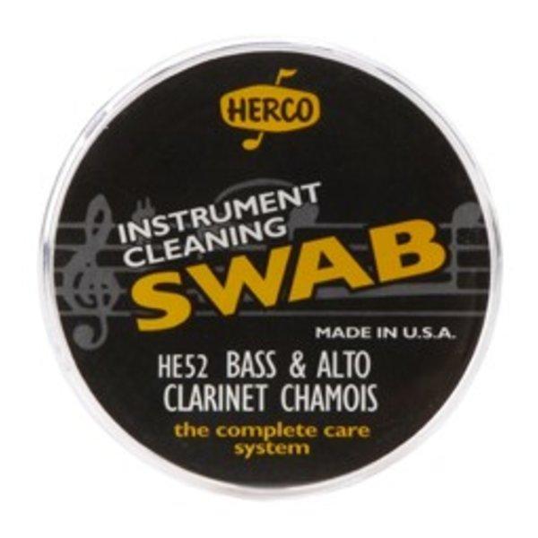 Jim Dunlop Herco HE52 Alto & Bass Clarinet Swab Synthetic Chamois Cloth