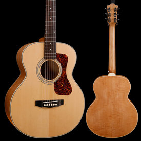 Guild Guild Jumbo Junior Flamed Maple, Antique Blonde 217 3lbs 12oz