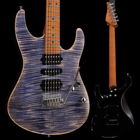 Suhr Suhr Modern Plus HSH Roasted Maple, Faded Trans Whale Blue Burst JS8D5E 7lbs 10.6oz