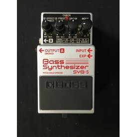 Boss Boss SYB-5 Bass Synthesizer Pedal USED