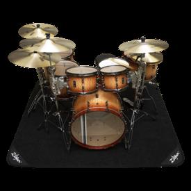 Zildjian Cymbals Zildjian Deluxe Rug 6.6'x5.4' w Bag Black