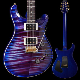 PRS PRS Paul Reed Smith Custom 24-08 10 Top, Violet Blue Burst 561 7lbs 8.9oz