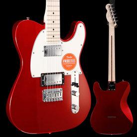 Squier Squier Contemporary Telecaster HH Maple Dark Metallic Red CY190701384 7lbs 9.6oz