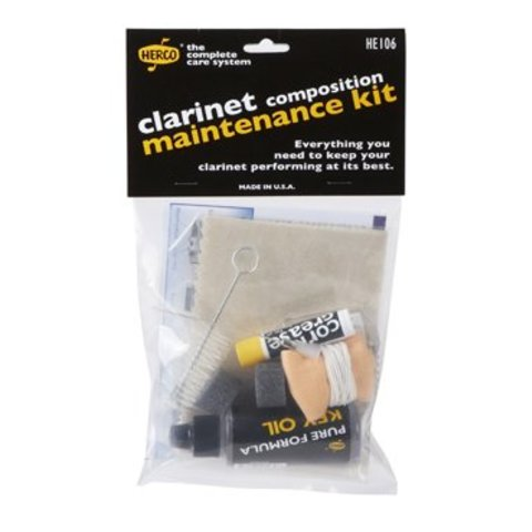 Herco HE106 Composite Clarinet Maintenance Kit
