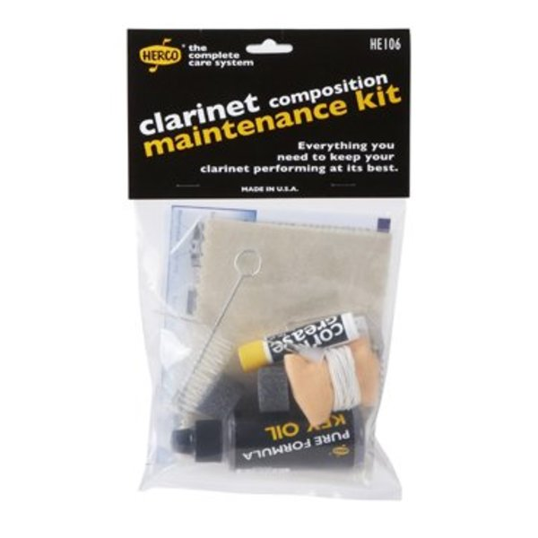 Jim Dunlop Herco HE106 Composite Clarinet Maintenance Kit