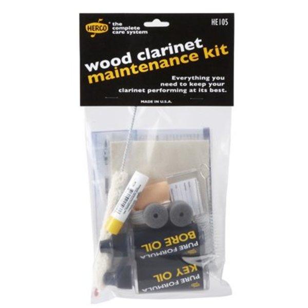Jim Dunlop Herco HE105 Wood Clarinet Maintenance Kit