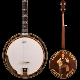Gibson Greg Rich CW Mundy Custom Shop Gibson Custom Granada Banjo, Uncle Dave Macon Grand Ole Opry