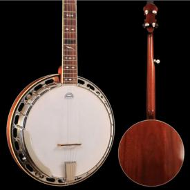 Gibson Custom Steve Gill Fiddle Cut Peg Head RB250/3 Neck & Resonator, Yates V33, Banjo