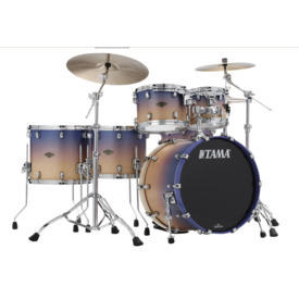 TAMA Tama Star Classic Walnut/Birch 5-piece Shell Pack, Satin Purple Atmosphere Fade