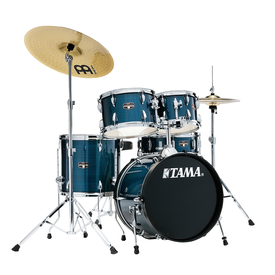 TAMA Tama IE52CHLB Imperialstar 5pc Kit w/Cymbals Hairline Blue