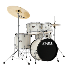 TAMA Tama IE52CVWS Imperialstar 5pc Kit w/Cymbals Vintage White Sparkle