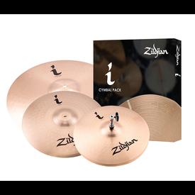 "Zildjian Cymbals Zildjian I Series Essentials Plus Cymbal Set - 13"", 14"", 18"""