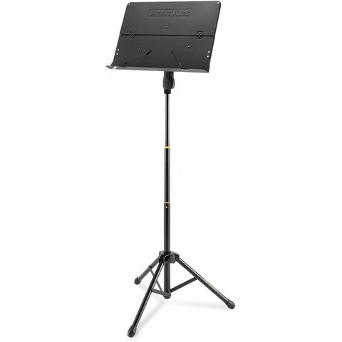Hercules BS408B Orchestra Stand, Foldable Desk Ez Grip