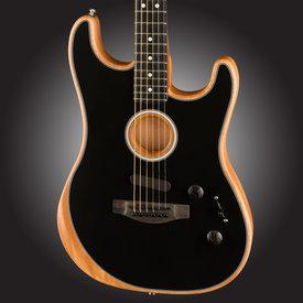 Fender PRESALE! Fender Acoustasonic Stratocaster, Ebony Fb, Black