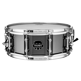 "Mapex Mapex ARST4551CEB Armory Tomahawk 14x5.5"" Steel Snare Drum"