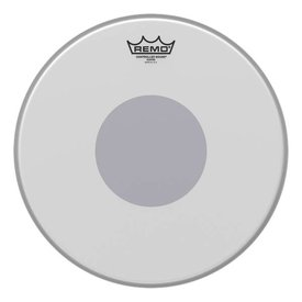 """Remo Remo Controlled Sound Coated Drumhead, Bottom Black Dot 14"""""""