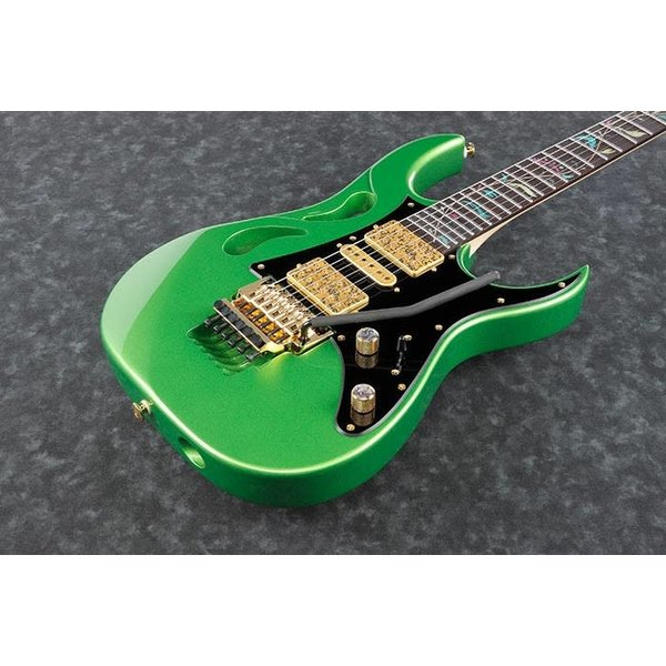 Ibanez PRESALE! New 2020 Ibanez PIA3761EVG Steve Vai Signature 6 String w Case Envy Green