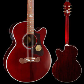 Epiphone Epiphone EEJPWRGH3 EJ-200 Coupe, Wine Red 311 4lbs 12.1oz