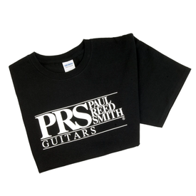PRS PRS Paul Reed Smith Block Logo Tee, Short Sleeve Black, X-Large