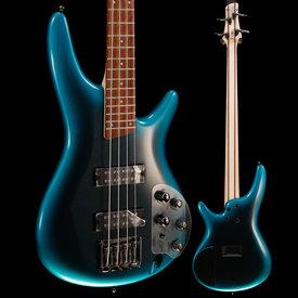 Ibanez Ibanez SR300E Bass Guitar, Black Hw, Cerulean Aura Burst 698 8lbs 5.2oz