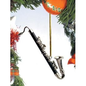 Music Treasures Co. Black Bass Clarinet Ornament