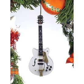 Music Treasures Co. White Falcon Electric Guitar Ornament