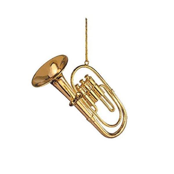 "Music Treasures Co. Ornament Gold 3"""