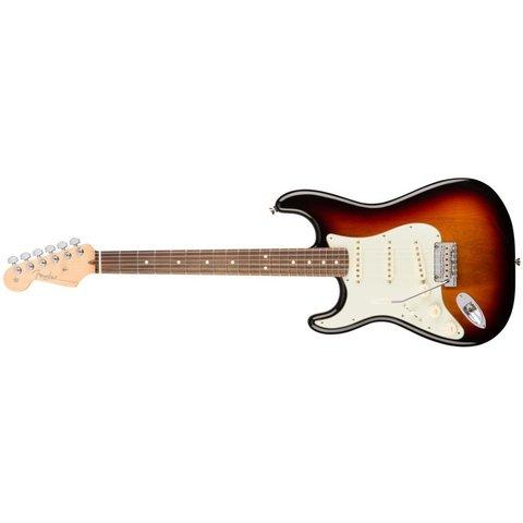 American Pro Stratocaster Left-Hand, Rosewood Fingerboard, 3-Color Sunburst