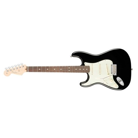 American Pro Stratocaster Left-Hand, Rosewood Fingerboard, Black