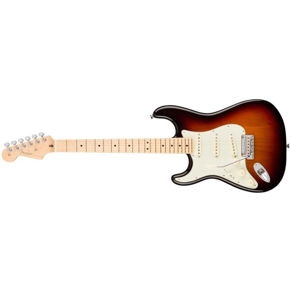 Fender American Pro Stratocaster Left-Hand, Maple Fingerboard, 3-Color Sunburst