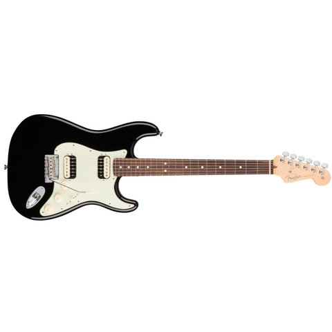 American Pro Stratocaster HH Shawbucker, Rosewood Fingerboard, Black