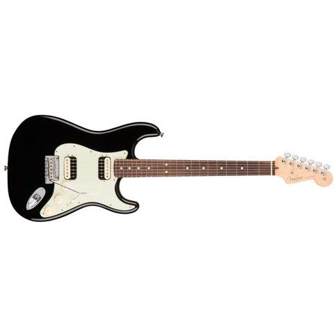 American Pro Stratocaster HH Shawbucker, Rosewood Fingerboard, Black