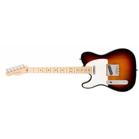 Fender American Pro Telecaster Left-Hand, Maple Fingerboard, 3-Color Sunburst