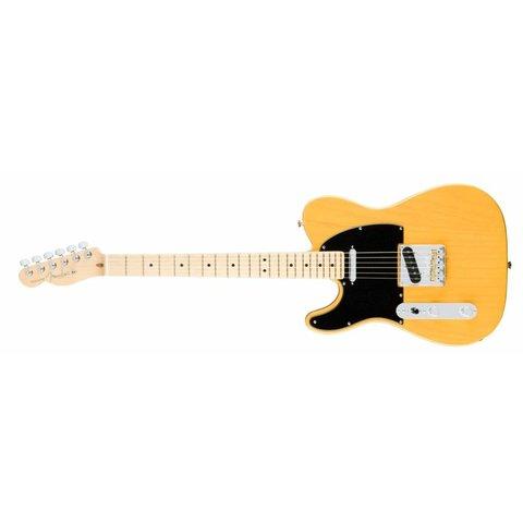 American Pro Telecaster Left-Hand, Maple Fingerboard, Butterscotch Blonde