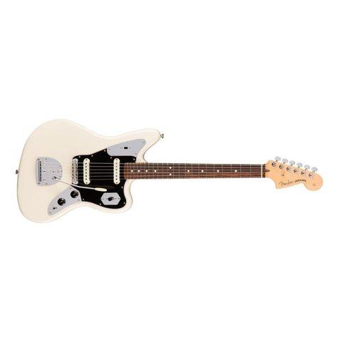 American Pro Jaguar, Rosewood Fingerboard, Olympic White