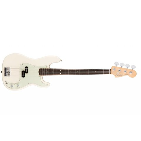 American Pro Precision Bass, Rosewood Fingerboard, Olympic White