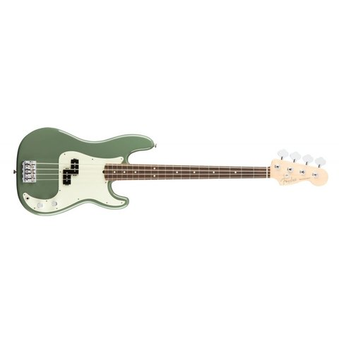 American Pro Precision Bass, Rosewood Fingerboard, Antique Olive