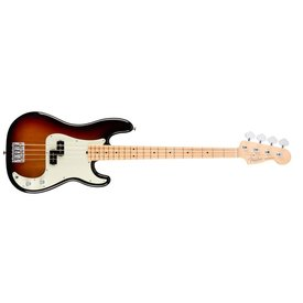 Fender American Pro Precision Bass, Maple Fingerboard, 3-Color Sunburst