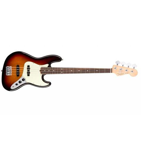 American Pro Jazz Bass, Rosewood Fingerboard, 3-Color Sunburst