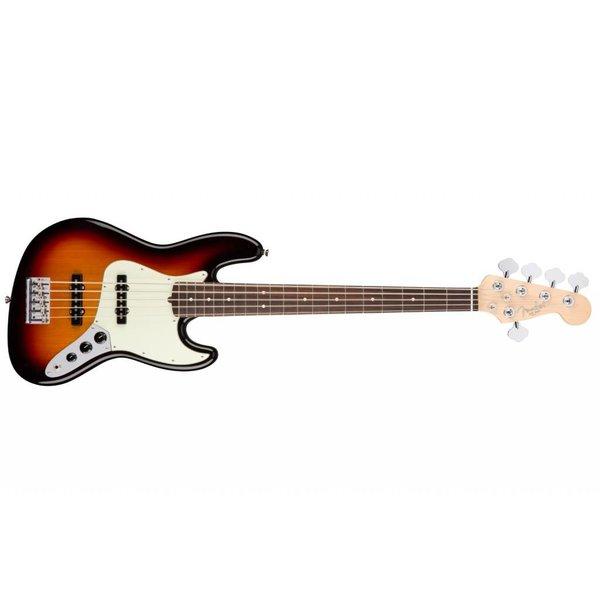 Fender American Pro Jazz Bass V, Rosewood Fingerboard, 3-Color Sunburst