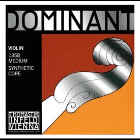 Thomastik Thomastik Dominant Violin Set, Steel Loop E, 4/4 Medium, 135BMS 4/4