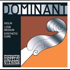 Thomastik Thomastik Dominant Violin Set, Steel Ball E, 3/4 Medium, 135B 3/4