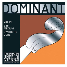 Thomastik Thomastik Dominant Violin Set, Ball E, 4/4 Medium 135B 4/4